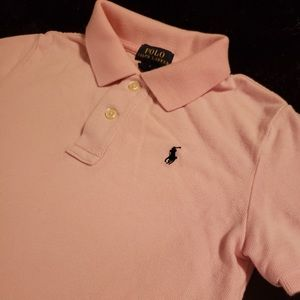 | Like New Size 7 Boys Pink Polo by Ralph Lauren |